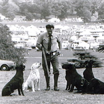 John Halsted Senior Gundog Demonstration at Chatsworth